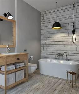 Vinyl Fliesen Bad Wand : badezimmer ohne fliesen ideen f r fliesenfreie wandgestaltung wohnen bad in 2019 ~ A.2002-acura-tl-radio.info Haus und Dekorationen