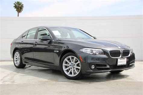 Certified Bmw by Certified Pre Owned 2015 Bmw 5 Series 535i 4dr Sdn 535i
