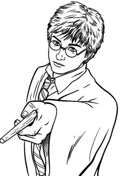 harry potter coloring pages printable