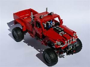 42029 Customized Pick Up  U2013 Remote Controlled  U2013 Muuss Lego