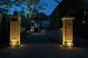 driveway brick lights google search driveway With outdoor lights for driveway columns