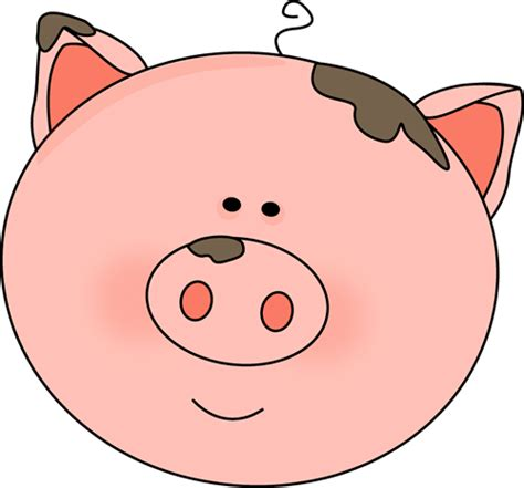 Pig Clip Realistic Clipart Pig Pencil And In Color Realistic