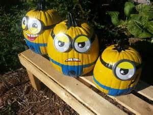Easy Girly Pumpkin Carving Ideas by Minion Pumpkins Pictures Photos And Images For Facebook