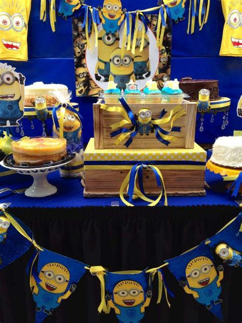 minions baby shower party ideas photo    catch