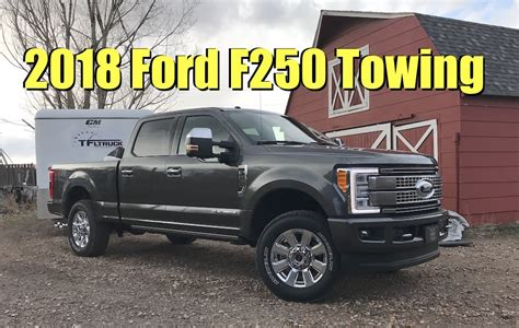 2018 Ford F250 Diesel Has Most Torque, But How Does It Tow