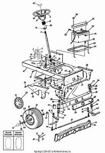 Mtd 14bj845h062  2002  Parts Diagram For Axle  Front