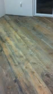 clear epoxy coating wood substrate