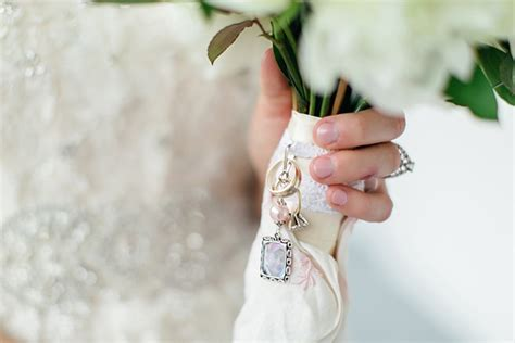 southern wedding bouquet charms