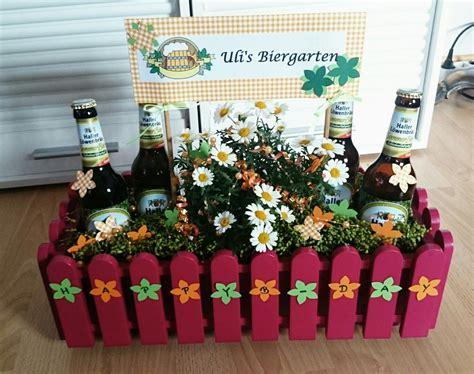 geschenk mann basteln biergarten geschenke eigene basteleien geschenk geschenkideen und geldgeschenke