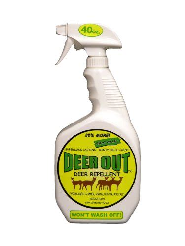 out repellent deer out 40oz deer repellent