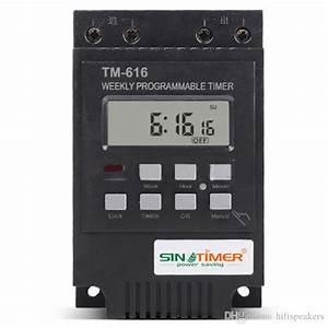2020 220v 110v 12v 30amp Tm616 Control Load 7 Days