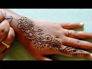 learn mehndi designs step by step simple mehndi designs ...