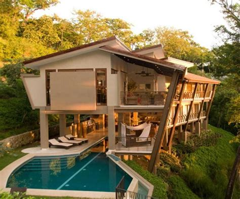 home design ideas wooden house with a complex arrangement in the