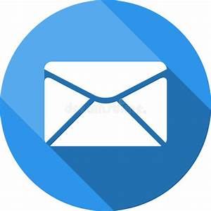 Envelope Icon  Send Email Message Sign  Internet Mailing Symbol  Stock Illustration
