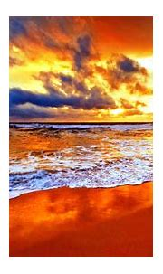 Seashore During Sunset HD Nature Wallpapers | HD ...