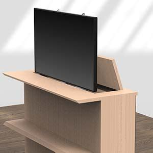 Mobili Per Televisori A Schermo Piatto by Supporti Motorizzati Flatmover Per Televisori E Monitor A