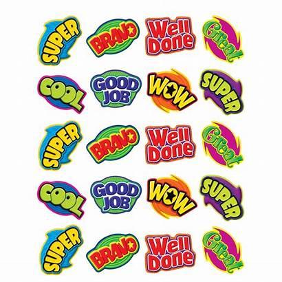 Stickers Words Positive Teacher Word Created Reward