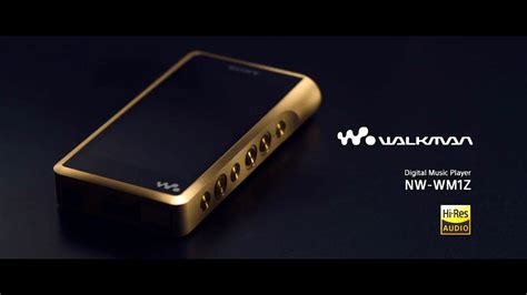 sony signature series walkman nw wmz official product