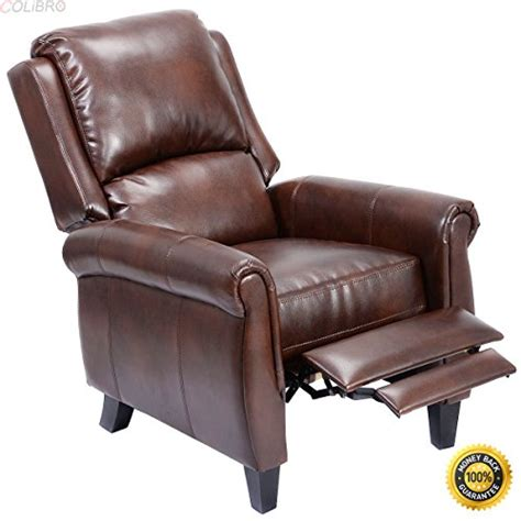 product reviews buy colibrox leather recliner accent