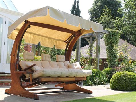 Swing Chair With Canopy by Summer Dream Swing Seat 3 Seater With Foot Rests