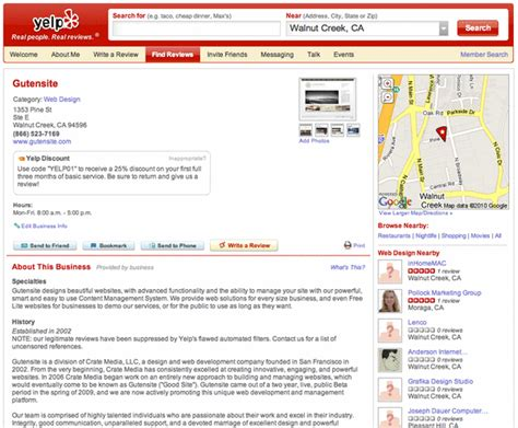 yelp review template ongoing yelp drama gutensite best website design and cms