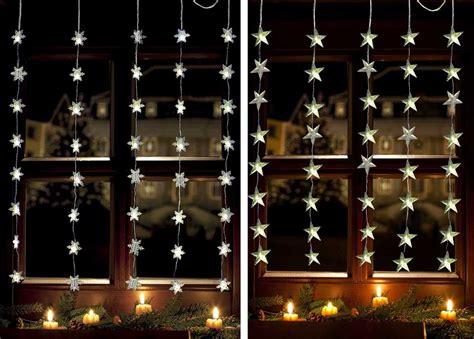 Led Lichtervorhang Schneeflocke O. Stern Lichterkette 1x1