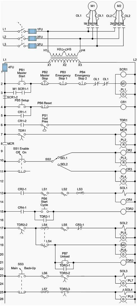 Electromechanical Relay Diagram Tec Elect