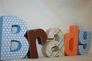 baby wooden letters nursery thenurseries With letters decoration baby