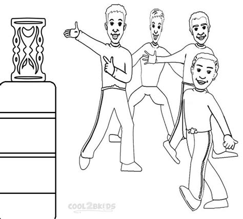 printable wiggles coloring pages  kids coolbkids