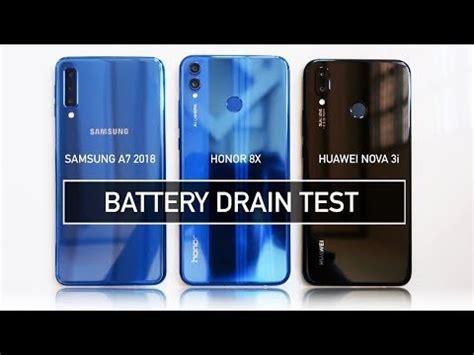 samsung a7 2018 honor 8x 3i battery drain test realme u1 honor 8x speed test ram management
