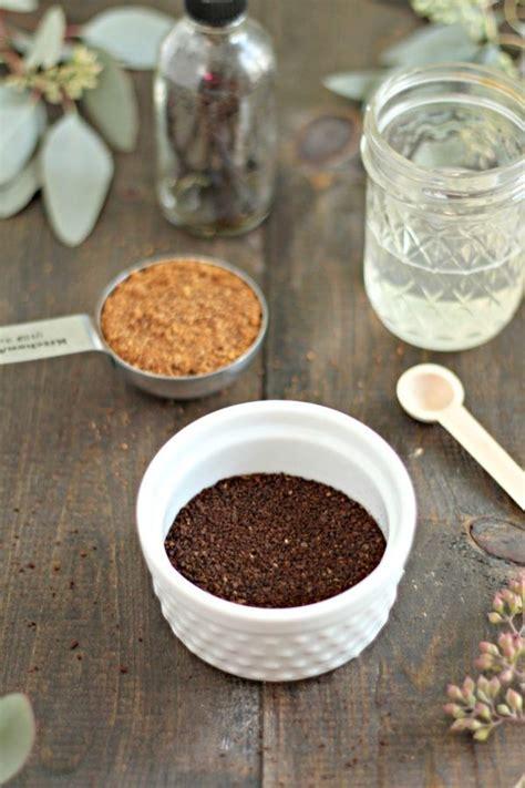 Just trowel grounds in when planting. DIY Coffee Scrub   Recipe   Coffee scrub, Natural ...