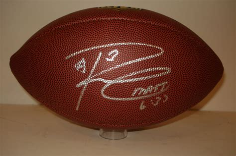 seattle seahawks russell wilson signed inscribed