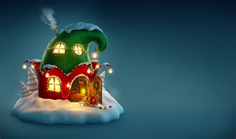 wallpaper christmas  year  fairy house holidays