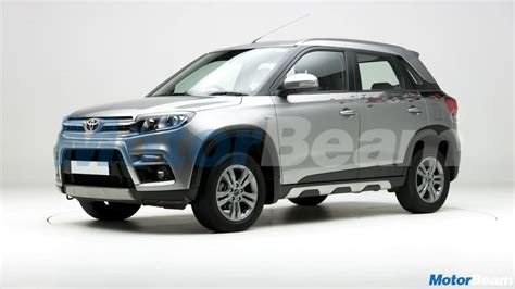 toyotas version  vitara brezza india launch