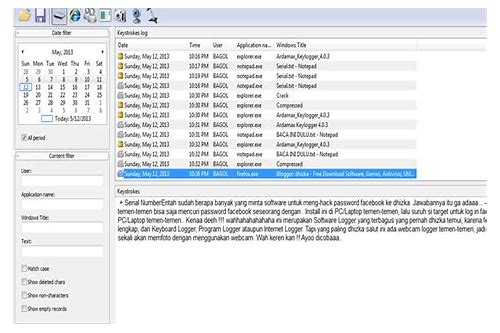 baixar gratis de programas hacker keylogger