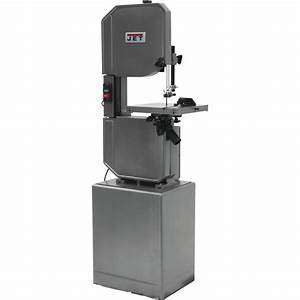 JET Vertical Wood and Metal Cutting Band Saw — 14in , 1 HP