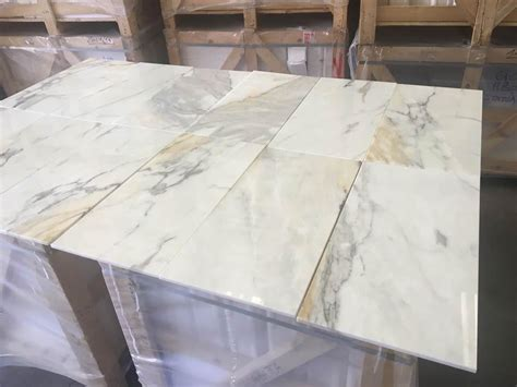 calacatta gold polished marble tiles floor wall cover