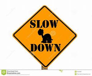 Slow Sign Clipart