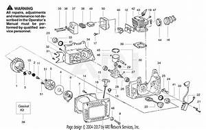 Poulan Pp380 Gas Saw  380 Gas Saw Parts Diagram For