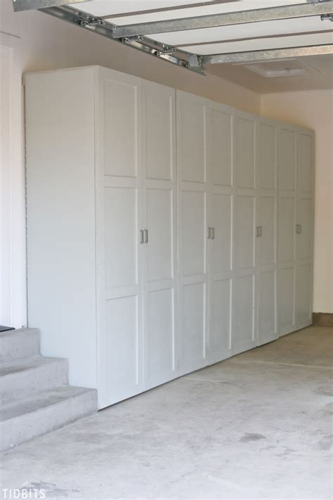 Garage Storage Cabinet Plans Or Ideas by Garage Storage Cabinets Free Building Plans Tidbits