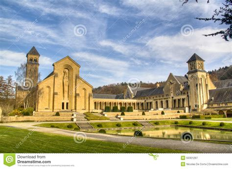 The Abbey Of Orval In Belgium Stock Image Image Of