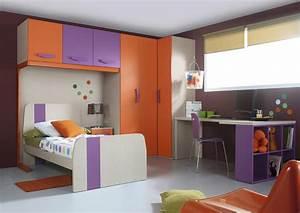 Lit Avec Armoire : acheter votre ensemble pont avec lit 90 et armoire d 39 angle chez simeuble ~ Teatrodelosmanantiales.com Idées de Décoration