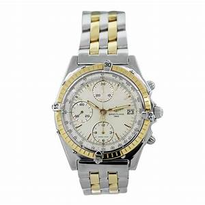 Breitling Windrider Chronomat D13047 Two Tone Mens Watch ...