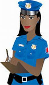 Black Police Woman Stock Illustrations - GoGraph