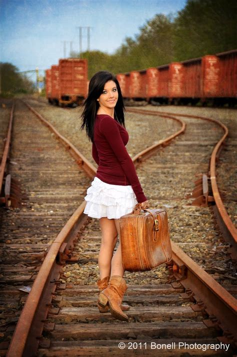 railroad photo shoot ideas images  pinterest