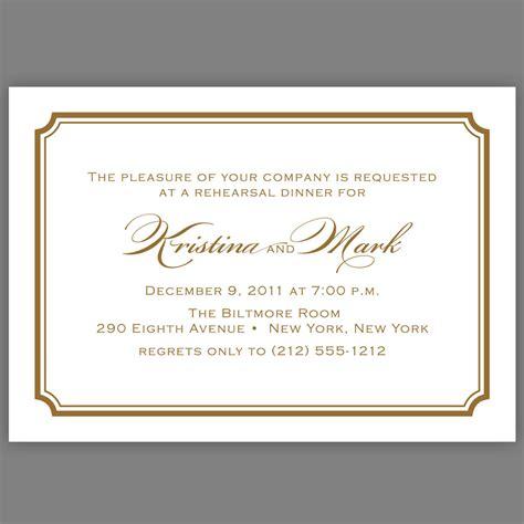 invitation templates dinner invitation card