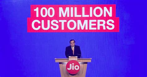 indias richest man    giving   services     million users