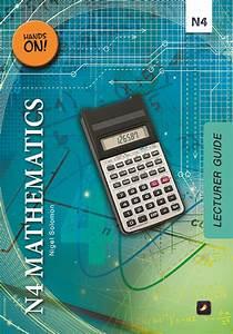N4 Mathematics Lecturer Guide