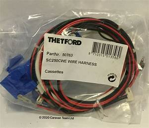 Thetford C250cwe Toilet Wiring Harness Loom  U0026 Pump For