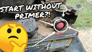 Easily Start A Lawn Mower With A Broken Primer Button